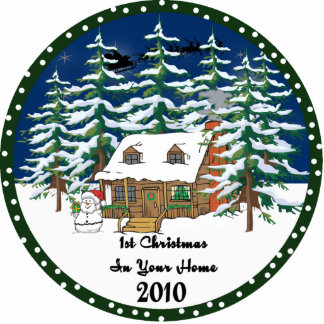 1st Christmas In Y0ur Home 2010 Ornament