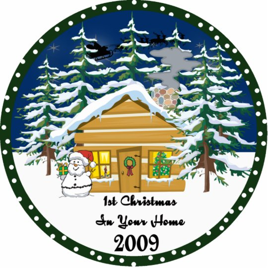 1st Christmas In Your Home 2009 Ornament