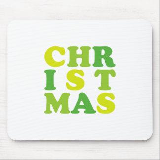 1st christmas mouse pad