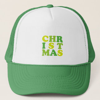 1st christmas trucker hat