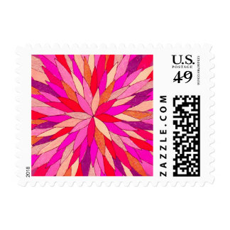 1st class (1 oz) postage with Colorart mandala