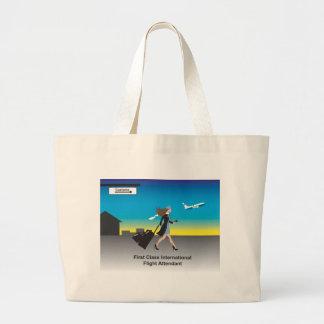 1st Class International Flight Attendant Bags