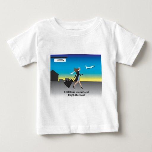 1st Class International Flight Attendant T-shirt