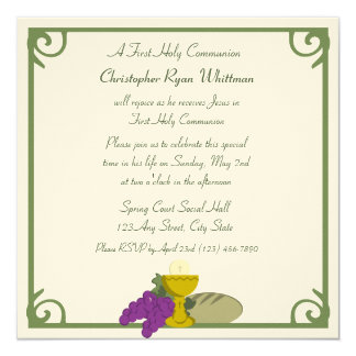 1st Communion Card