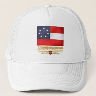 1st Confederate National Trucker Hat