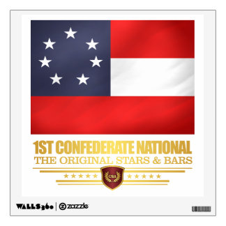1st Confederate National Wall Sticker