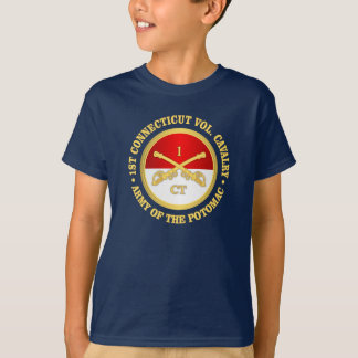 1st Connecticut Cavalry (rd) T-Shirt