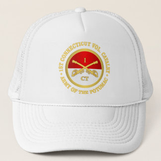 1st Connecticut Cavalry (rd) Trucker Hat