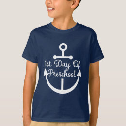 First Day Of Preschool T-Shirts & Shirt Designs | Zazzle