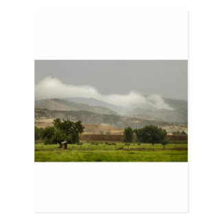 1st Day of Rain Great Colorado Flood Postcard
