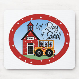 1st Day of School Tshirts and Gifts Mouse Pads