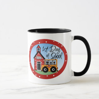1st Day of School Tshirts and Gifts Mug