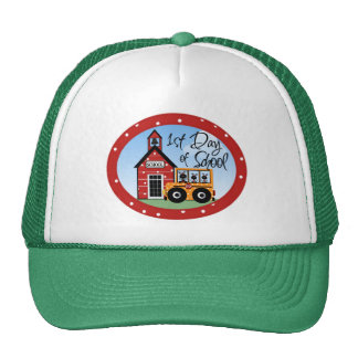 1st Day of School Tshirts and Gifts Trucker Hat
