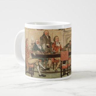 1st December 1810: Christmas at Marley Hall Large Coffee Mug