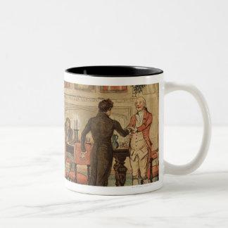 1st December 1810: Christmas at Marley Hall Two-Tone Coffee Mug