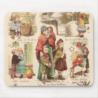 1st December 1879: A set of Christmas sketches Mouse Pad