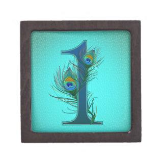 1st decorative numbered designs - Anniversary Premium Keepsake Box