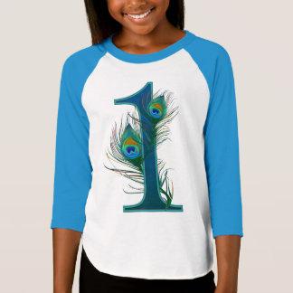 1st decorative numbered designs - Anniversary T-Shirt