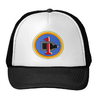 1st Division  Headquarters Mesh Hats