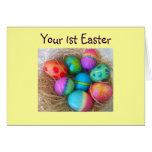 1st EASTER-BASKET OF WISHES Card