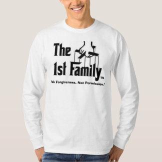 "1st Fam2, ""Ask Forgiveness. Not Permission."", TM T-Shirt"
