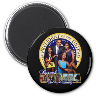 1st Family 2 Inch Round Magnet