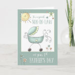 1st Father's Day for a Special Son-in-Law Card