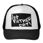 1st Fathers Day Hat