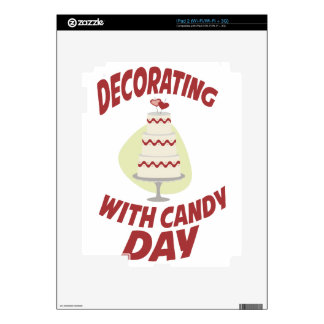 1st February - Decorating With Candy Day iPad 2 Decal