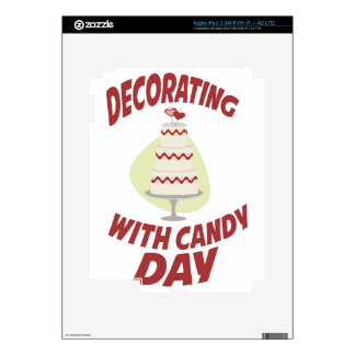 1st February - Decorating With Candy Day iPad 3 Skins