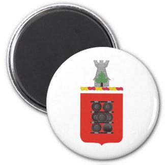 1st Field Artillery Regiment Coat of Arms Magnets