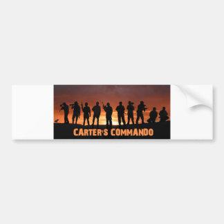 1st Gen Carter Commando bumper sticker Car Bumper Sticker