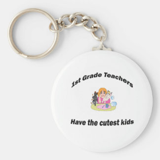 1st grade and kids keychain
