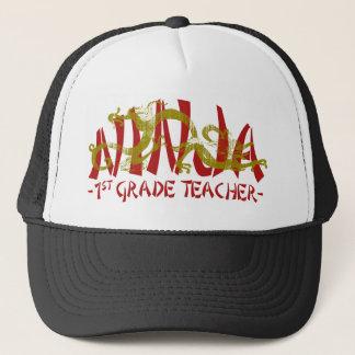 1st Grade Dragon Ninja Trucker Hat