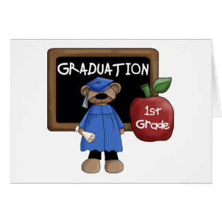 1st Grade Graduation Greeting Card