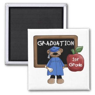 1st Grade Graduation Magnet
