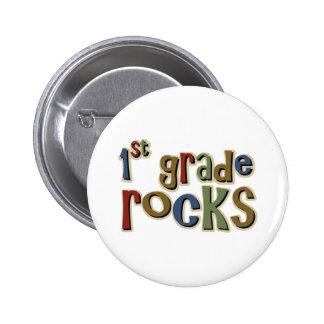 1st Grade Rocks First Pin