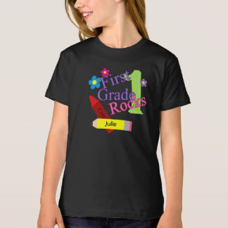 1st Grade Rocks For Girls T-Shirt