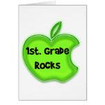 1st. Grade Rocks Greeting Card