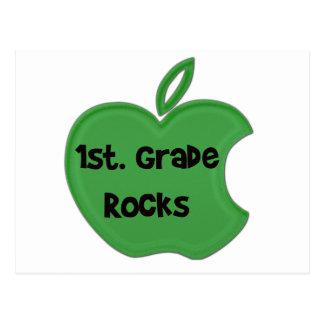 1st. Grade Rocks Postcard