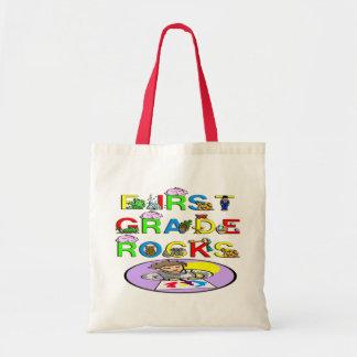 1st Grade Rocks Tote Bag