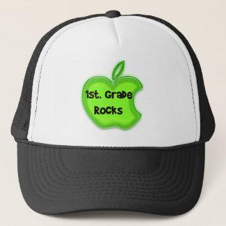 1st. Grade Rocks Trucker Hat