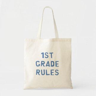 1st Grade Rules Tote Bag