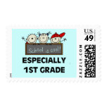 1st Grade School is Cool Tshirts and Gifts Stamps