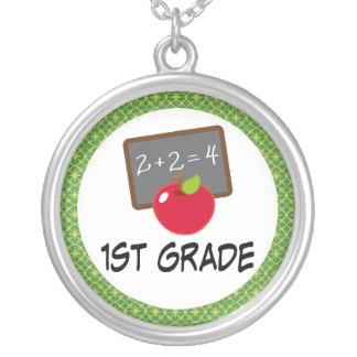 1st Grade School Jewelry Necklace Gift