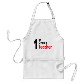 1st Grade Teacher Adult Apron