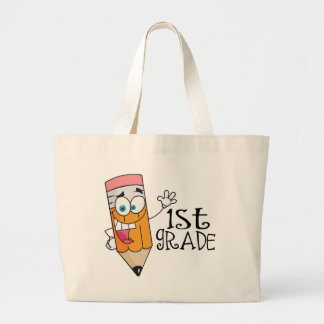 1st Grade Teacher End of Year Gift Large Tote Bag