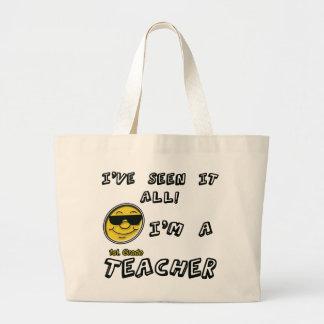 1st. Grade Teacher Large Tote Bag