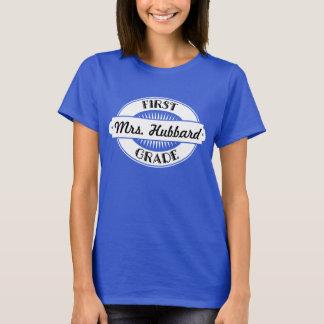 1st Grade Teacher personalized School T-Shirt