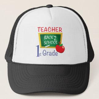 1st Grade Teacher Trucker Hat